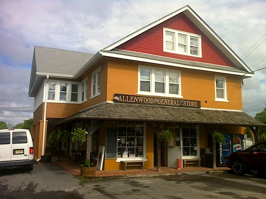 allenwood general store exterior