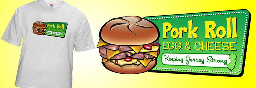 pork roll shirts banner