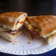Pork Roll Comes in XL at Bing's Deli